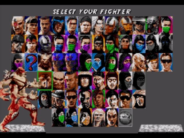 Sega Mortal Kombat 5 Скачать